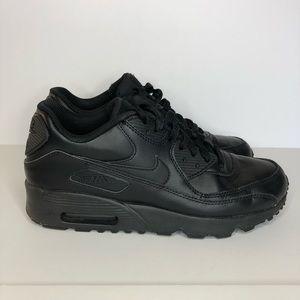 Nike Air Max 90 Triple Black Youth Size 7Y